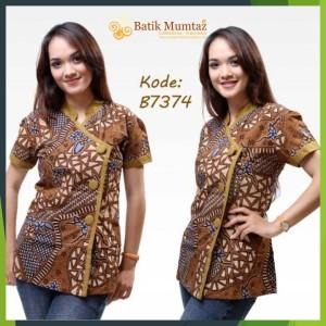 model seragam batik kantor