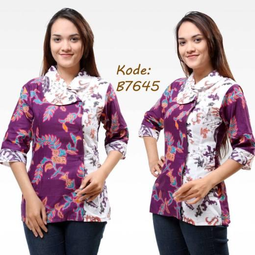Model Baju Batik Untuk Kerja Pramugari Modern
