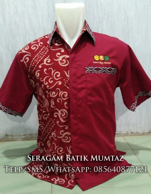 batik Kombinasi Merah