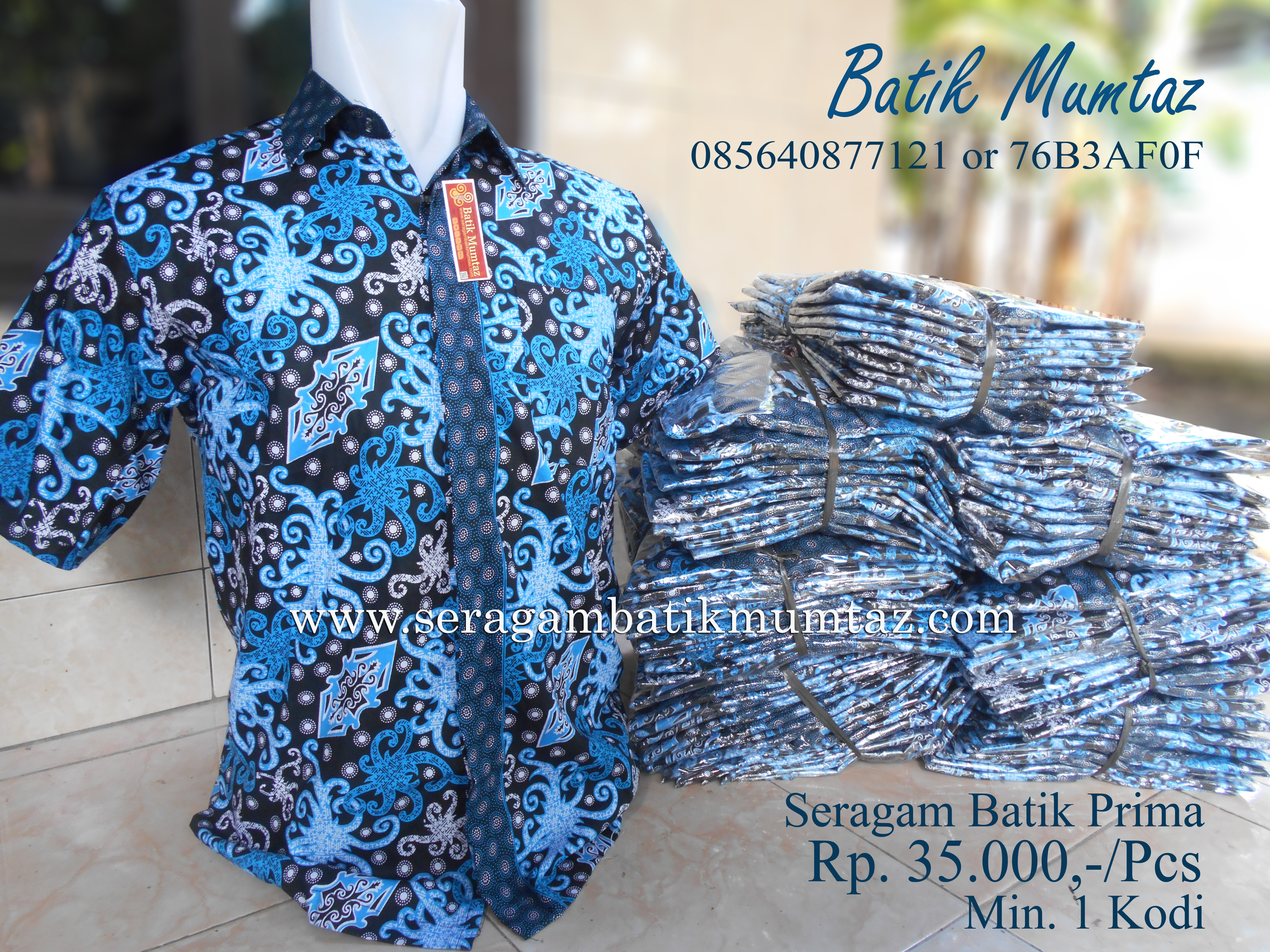 Model Seragam Batik Pegawai Bank