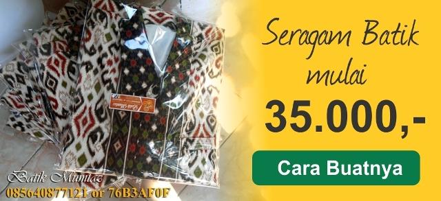 Banner Batik