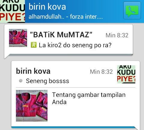 Pesan Seragam Batik
