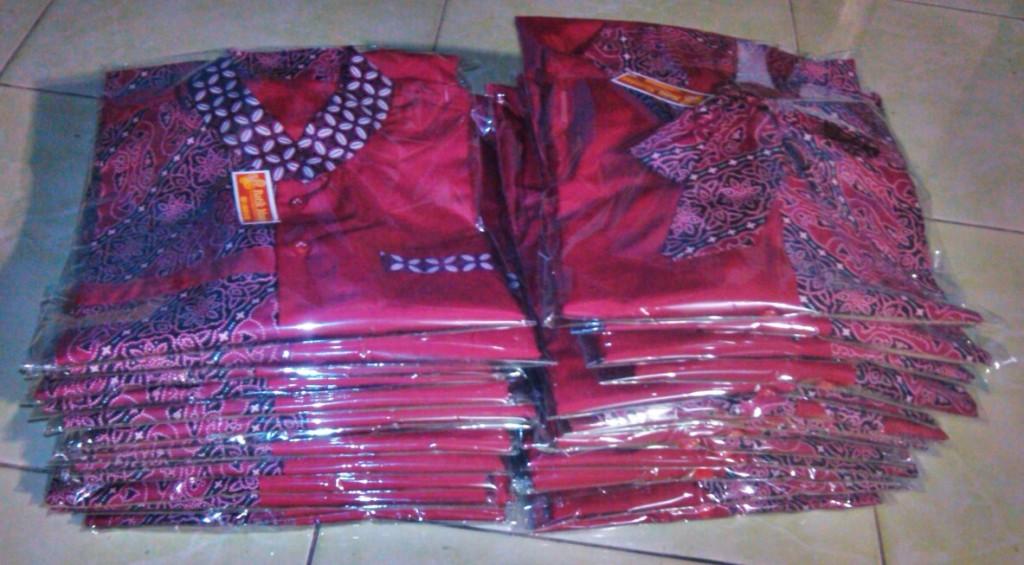seragam batik remaja
