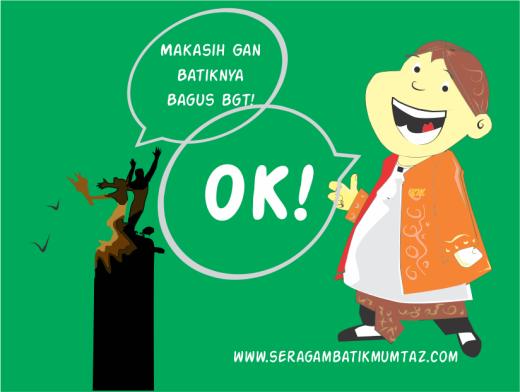 Alhamdulillah, semua puas dengan Seragam Batik buatan Batik Mumtaz