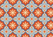 orange-moroccan-pattern-background-vector