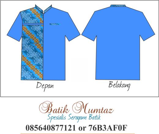 Seragam Batik Siswa Cowok