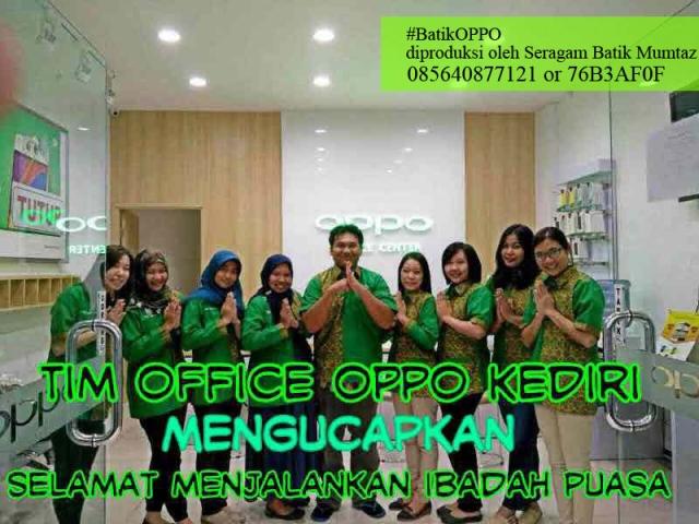 Seragam Oppo Indonesia