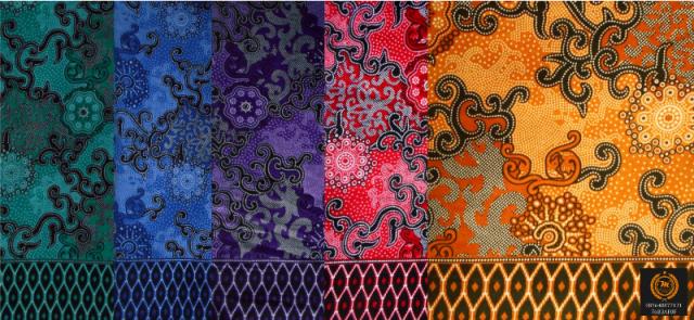Motif Batik Kerang