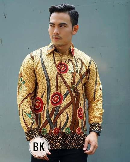 seragam batik pria